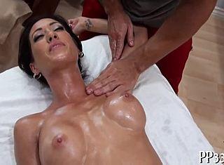 Öl massage porno